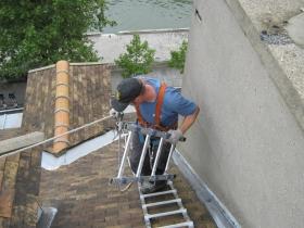 Entretien de toiture