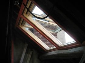 Création d'une fenêtre de toit